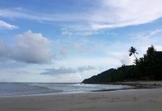 Morning Beach at Kao Chang royalty free stock photos