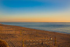 Beach in the morning Royalty Free Stock Photography