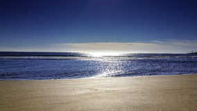 Beach in the morning. Photo of Scottish beach in the morning Stock Image
