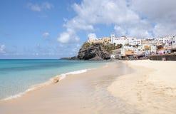 Beach in Morro Jable, Fuerteventura Royalty Free Stock Photography