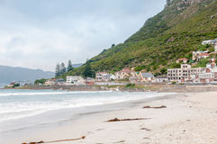 Beach at Muizenberg. Western Cape Province of South Africa Royalty Free Stock Image