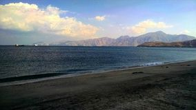 Beach in musandam. Really enjoyed there. And what a great pic rite Royalty Free Stock Photos