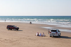 Beach in Muscat, Oman Stock Image