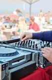 Beach music Stock Photography