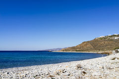 Beach in Mykonos Stock Image
