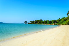 Beach naka island Phuket Thailand. Royalty Free Stock Images