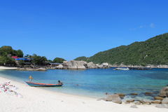Beach of Nangyuan island Royalty Free Stock Images