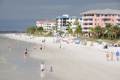 Beach in Naples, Florida Stock Photo