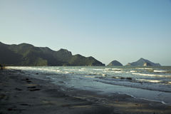 Beach in a national park Khao Sam Roi Yot Royalty Free Stock Photography