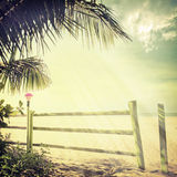 Beach-33. Nature background in vintage style Royalty Free Stock Photo