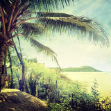 Beach-38. Nature background in vintage style Royalty Free Stock Images