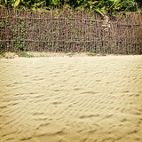 Beach-42. Nature background in vintage style Royalty Free Stock Photo