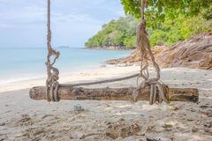 Beach, nature, sea, summer and leisure concept Stock Photography