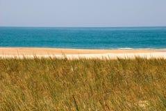 Beach, Nazare, Portugal Stock Photography