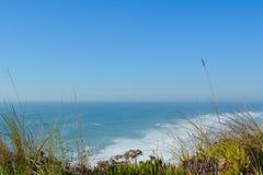 Beach. In the Nazare, Portugal Stock Photo