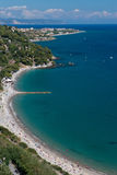 Beach near Alassio Stock Photography
