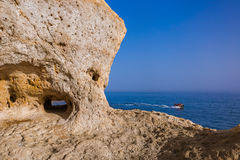 Beach near Albufeira - Algarve Portugal Royalty Free Stock Photo