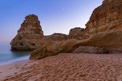Beach near Albufeira - Algarve Portugal. Beach near Albufeira - Algarve region in Portugal Royalty Free Stock Images