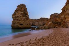 Beach near Albufeira - Algarve Portugal. Beach near Albufeira - Algarve region in Portugal Stock Image