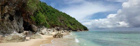 Beach near Bali Cliff,  South of Bali island, Indonesia Stock Photography