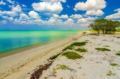 Beach near Cabo de la Vela Royalty Free Stock Photo