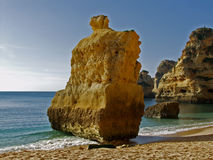 Beach near Carvoeiro, Algarve, Portugal. Stock Photo