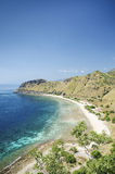 Beach near dili east timor, timor leste Royalty Free Stock Images