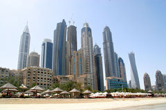 Dubai beach Royalty Free Stock Image