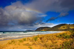 Beach near Great Ocean Road. VIC, Australia Royalty Free Stock Images