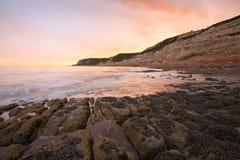 Beach near Hastings, UK. Royalty Free Stock Photo