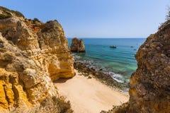 Beach near Lagos - Algarve Portugal. Beach near Lagos - Algarve region in Portugal Royalty Free Stock Image