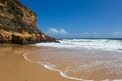 Beach near Lagos, Algarve, Portugal Stock Photo