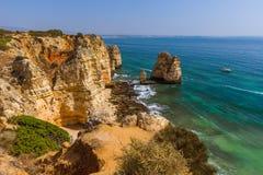 Beach near Lagos - Algarve Portugal Stock Image