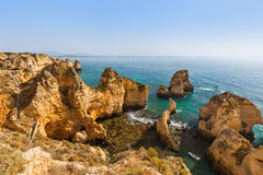 Beach near Lagos - Algarve Portugal Royalty Free Stock Image