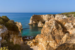 Beach near Lagos - Algarve Portugal. Beach near Lagos - Algarve region in Portugal Stock Photography