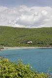 Beach near Porticciolo at the East coast, Cap Corse, Corsica, France Royalty Free Stock Photos