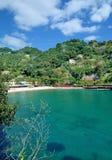 Beach near Portofino,italian Riviera,Liguria,Italy Royalty Free Stock Images