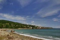 Beach near Santiago De Cuba royalty free stock photo