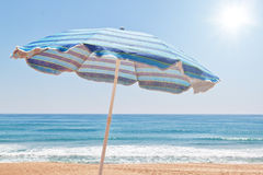 The beach near the sea. Royalty Free Stock Images