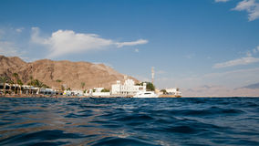 Beach near the Taba border control. Stock Image