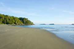 Beach near Tofino, Canada Royalty Free Stock Images
