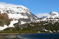 Beach near Whittier Alaska Stock Photo