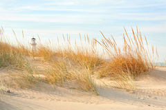 Beach in New Buffalo, Michigan Royalty Free Stock Photography