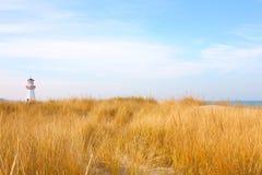 Beach in New Buffalo, Michigan Stock Images