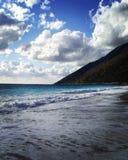 ALBANIAN BEACH Llogara pass royalty free stock photos