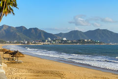 Beach in Nha Trang Royalty Free Stock Image