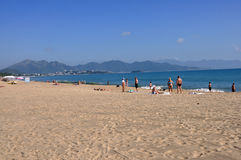 Beach in Nha Trang,Vietnam Stock Photography