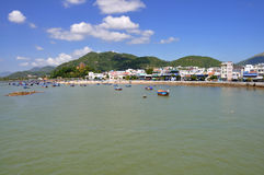 Beach in Nha Trang,Vietnam Stock Photo