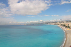 Beach in Nice Royalty Free Stock Image