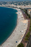 Beach of Nice Royalty Free Stock Images